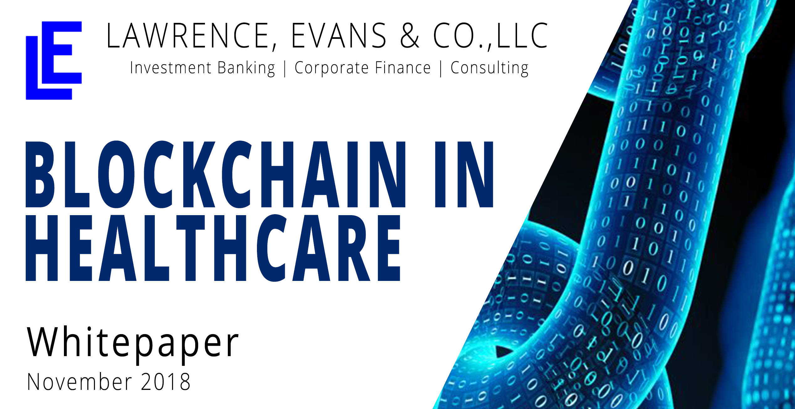 Blockchain in Healthcare White Paper - Lawrence, Evans & Co